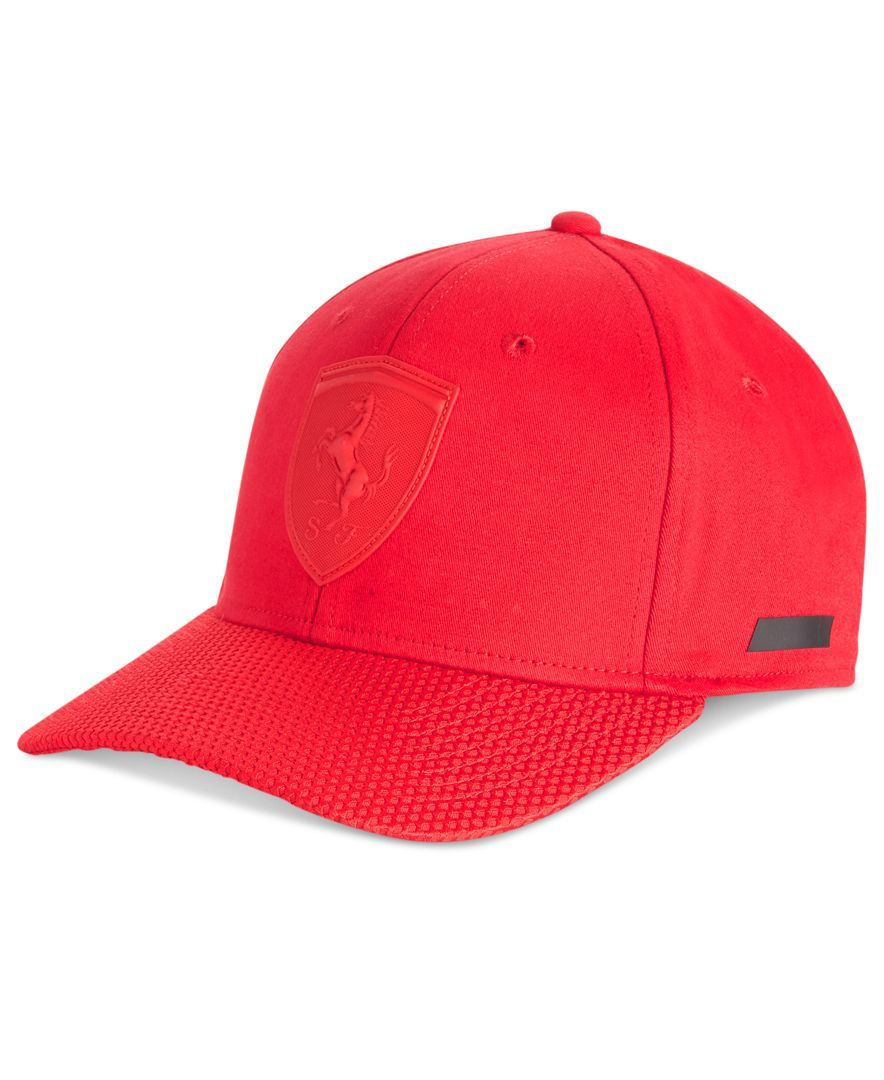 fe20614f7fc8b7 Puma Men's Ferrari Lifestyle First Cap | Products | Puma mens, Hats ...