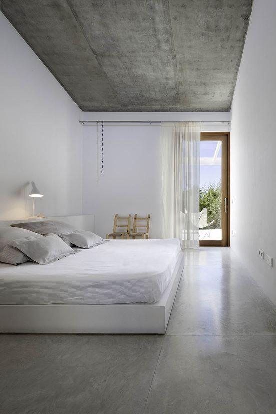 concrete floors Bedroom Pinterest Chambres, Beton et Intérieur
