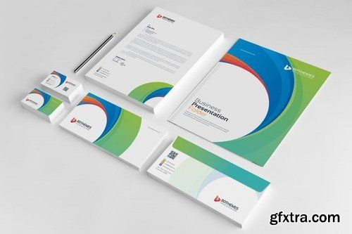 Business stationery template 21 stationery pack included beautiful business stationery template 21 stationery pack included beautiful visiting card letterhead document folder accmission Image collections