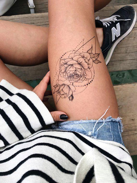 Photo of #Blume #Dots #drawing #Female #flash #Geometrie