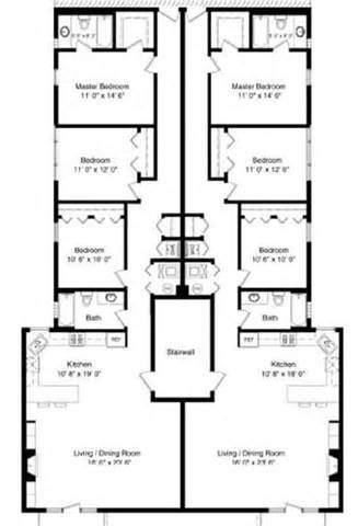 Railroad Apartment Floor Plan Layout Plans Plants