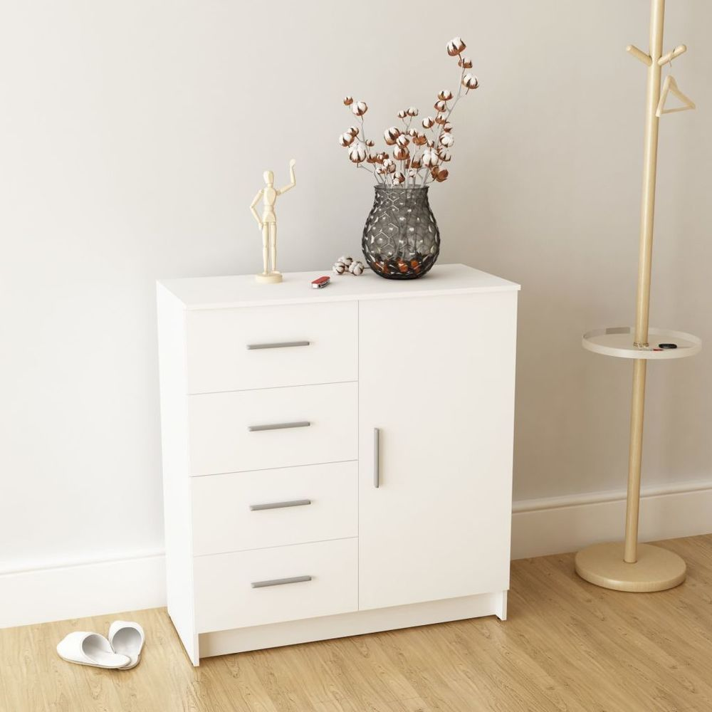 Chabby Chic Sideboard Cupboard Cabinet Wood Buffet Bedroom Storage