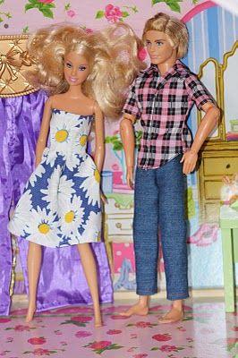 barbie and ken clothes barbie clothes pinterest barbie puppen und kleidung. Black Bedroom Furniture Sets. Home Design Ideas