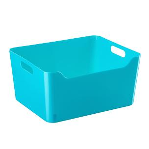 Peacock Plastic Storage Bins With Handles Plastic Storage Bins Storage Bins Large Plastic Storage Bins