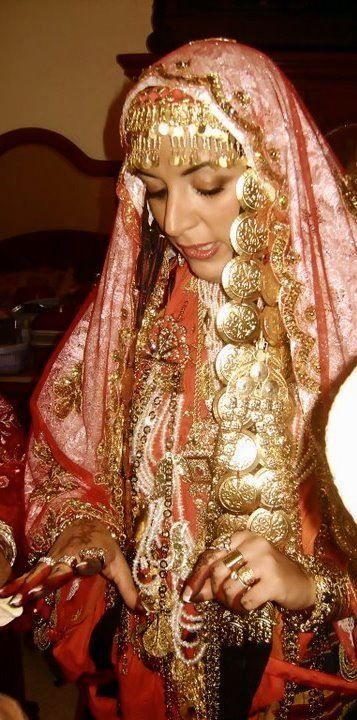 tunisian wedding dress...