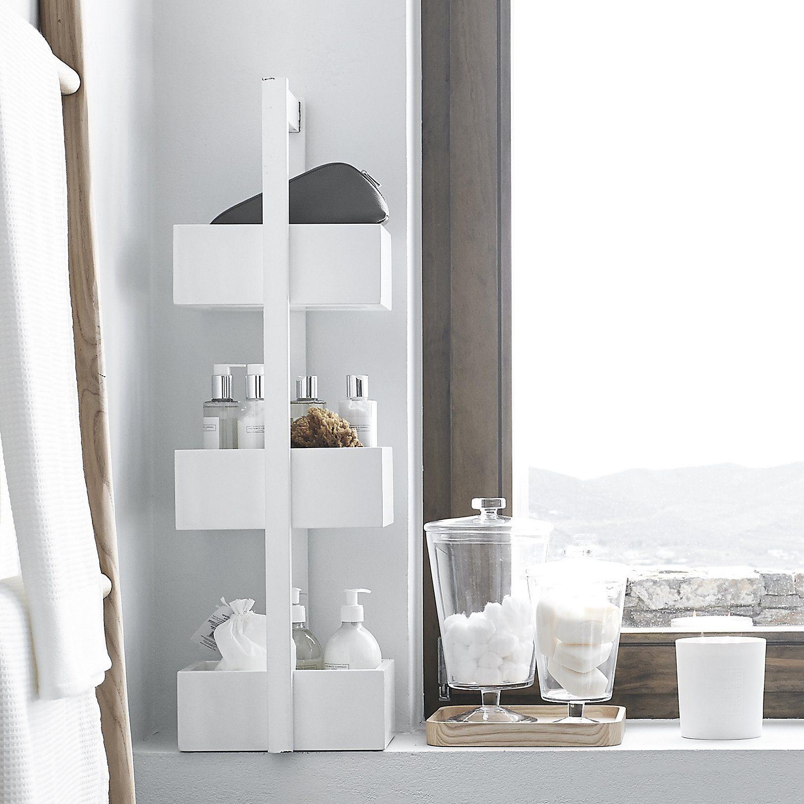 Bathroom Caddy | Bathroom caddy, White company and Bathroom furniture