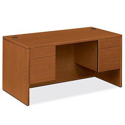 Show details for 10500 Series Rectangle Pedestal Desk 2
