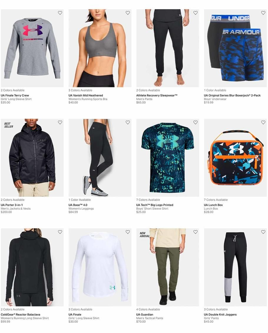 6e3e867c Under Armour Holiday Books 2018 Ads and Deals Browse the Under Armour  Holiday Books 2018 ad scan and the complete product by product sales  listing.