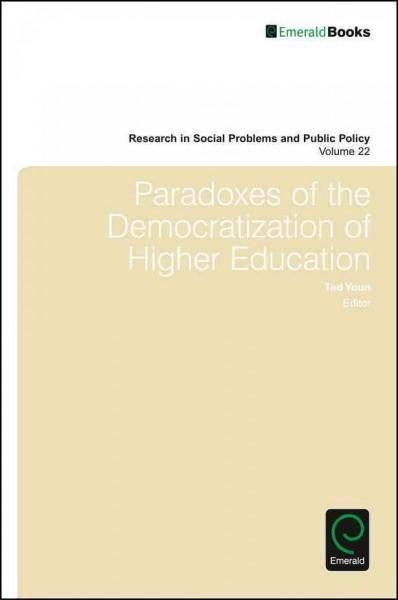 Paradoxes of the Democratization of Higher Education distance