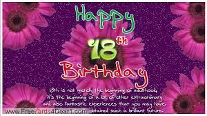 Fantastic Happy 18Th Birthday Wishes Images With Unique Love Quotes And Funny Birthday Cards Online Alyptdamsfinfo
