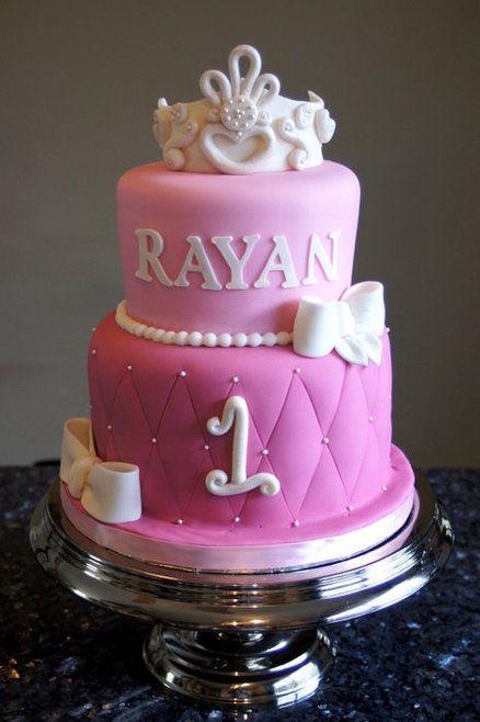 Princess First Birthday Cake Cake By Sylvia Cake First Birthday