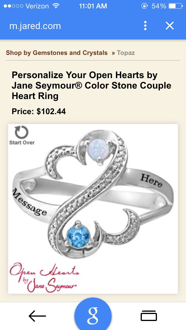 19e6803fd120d Pretty promise ring from Jared's, size 6.5 $102 engraved with ...
