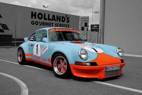 Porsche Carrera In Gulf Livery Cool Sports Cars Classic Porsche Porsche Cars