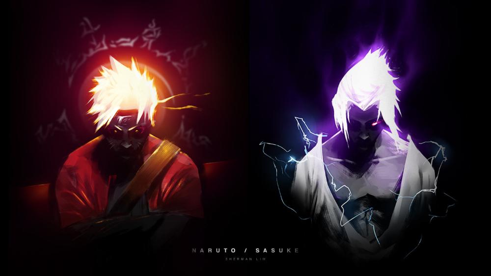 Naruto / Sasuke, Sherman Lim