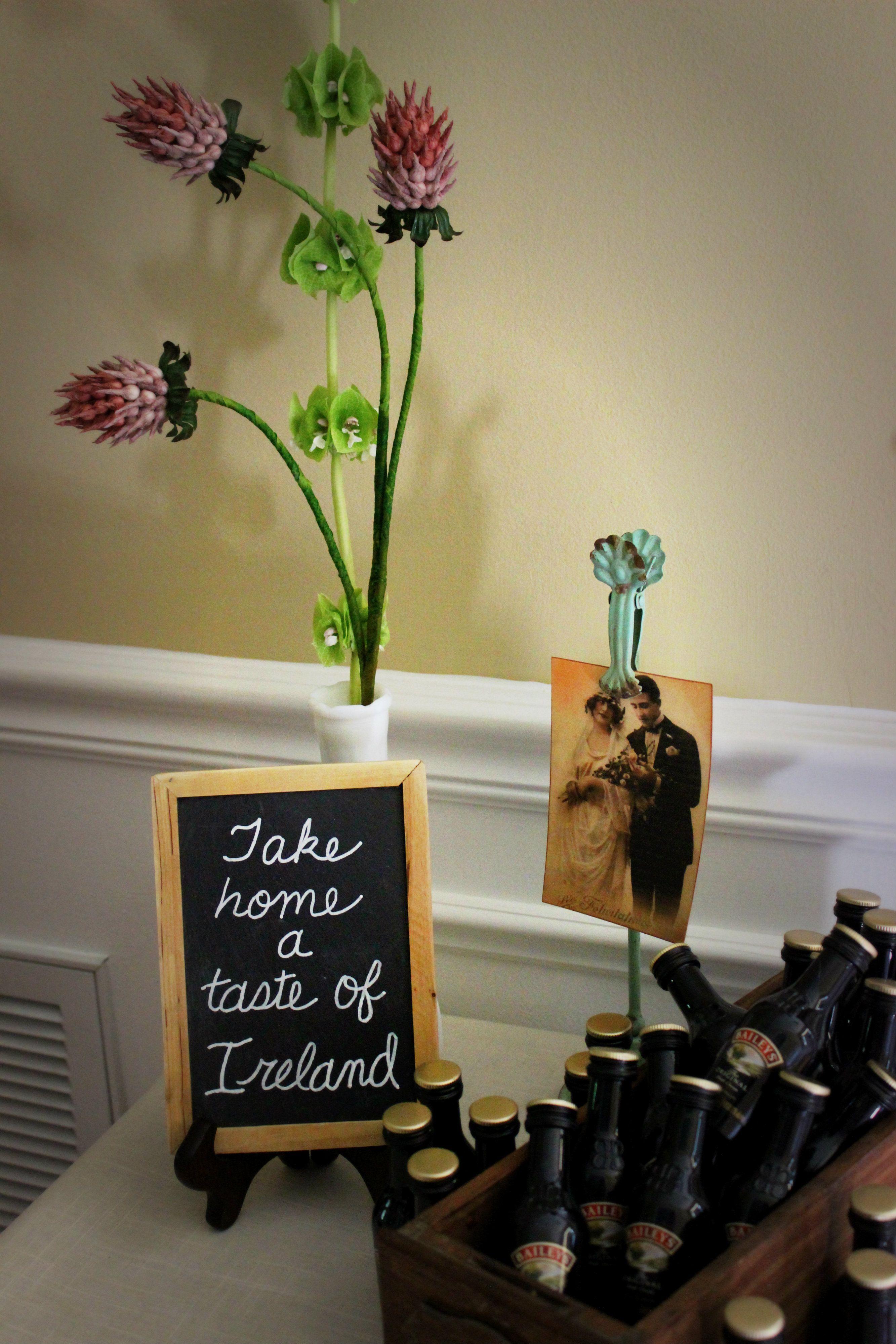 Irish Bridal Shower Favors Irishweddingfavors Wedding Favors