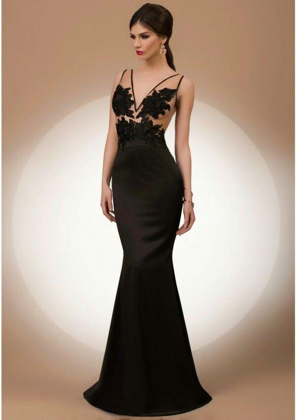 Pin By Kenare On Vecerni Paltarlar Mermaid Evening Dresses Dazzling Dress Evening Dresses