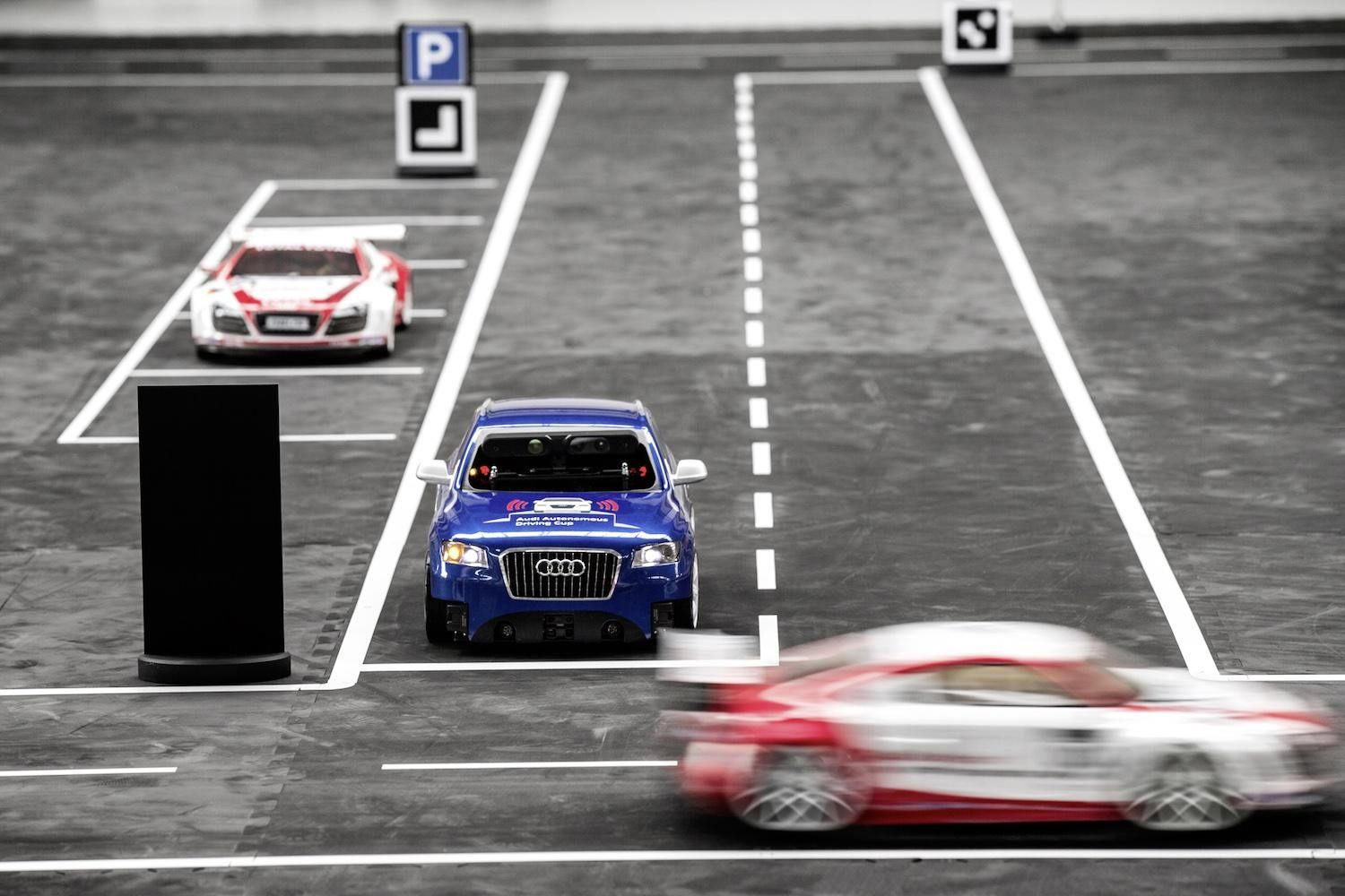 Audi challenges students to program autonomous Q5 models