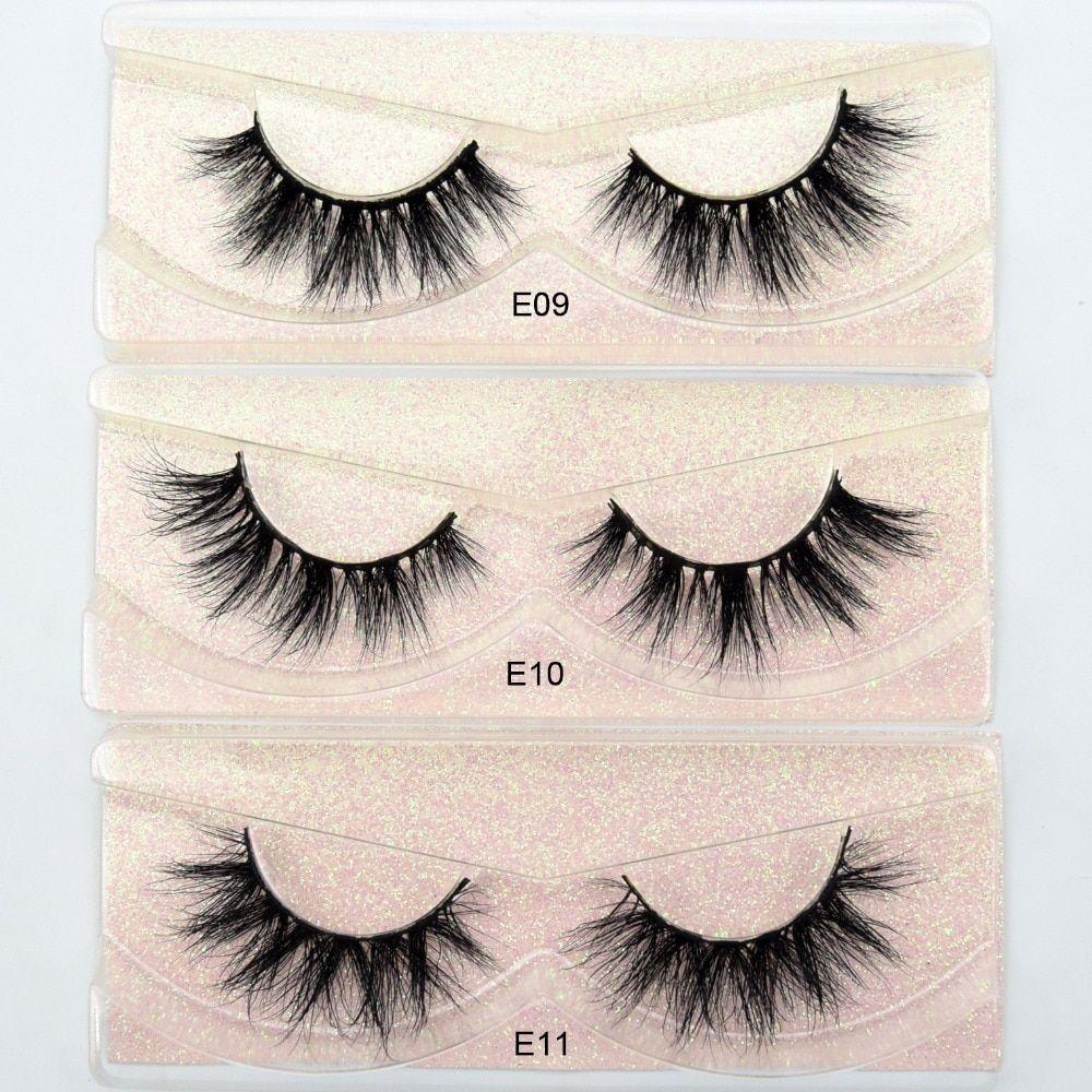 0886f68c38d Visofree Mink Lashes 3D Mink Eyelashes 100% Cruelty free Lashes Handmade  Reusable Natural Eyelashes Popular False Lashes Makeup -in False Eyelashes  from ...
