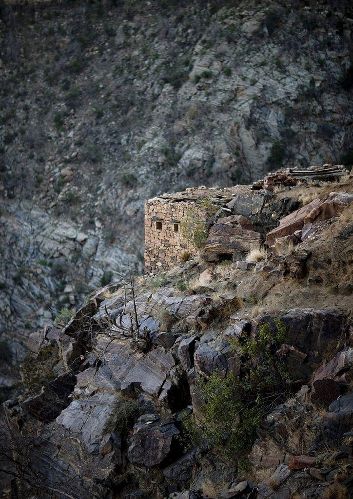 Old village Yemeni border in Saudi Arabia