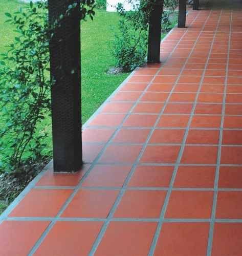 Baldosa cer mica exterior patios y terrazas pinterest for Ceramica exterior