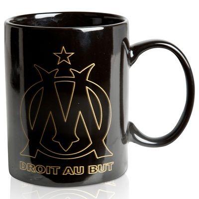 Trois tasses en céramique Olympique de Marseille