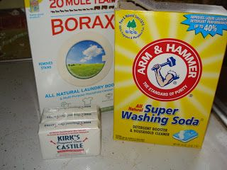 The Creative Home: Laundry Soap and fabric softener ...