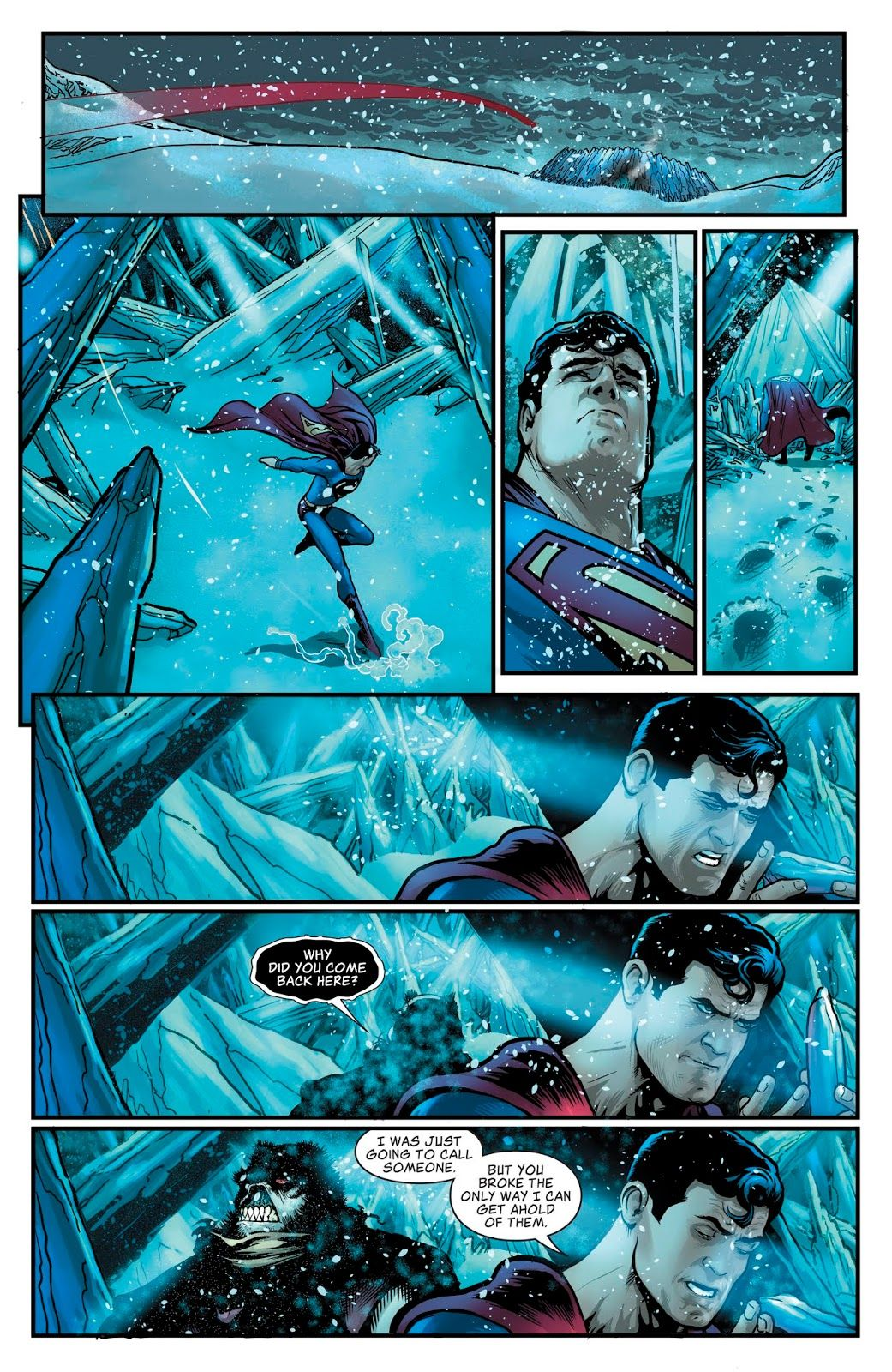 The Man Of Steel 2018 Issue 4 Read The Man Of Steel 2018 Issue 4 Comic Online In High Quality Man Of Steel Character Art Art
