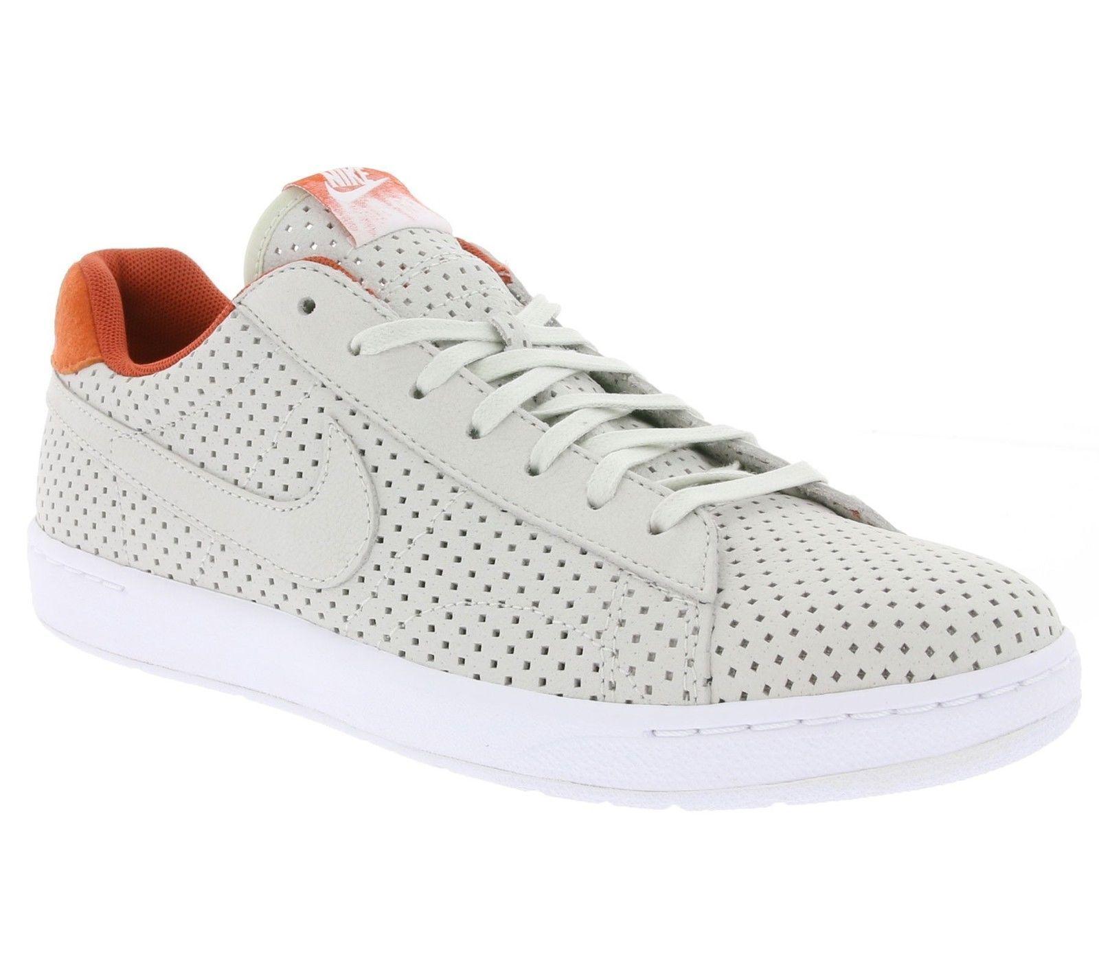 sports shoes 631df 20c1a Nike Tennis Classic Ultra QS Men s Shoes White Orange 807175-008 Size 9.5 -  11