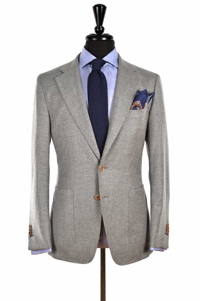 bf24a44a6c blackshoeblog Very happy with my new Beckett   Robb light grey unstructured  sport coat!