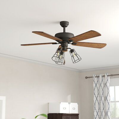 Andover Mills 42 Oisin 5 Blade Ceiling Fan Light Kit Included