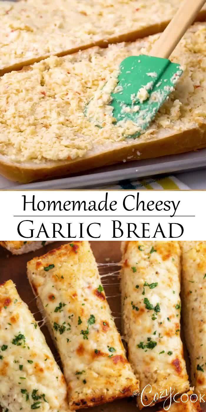 Photo of Homemade Cheesy Garlic Bread