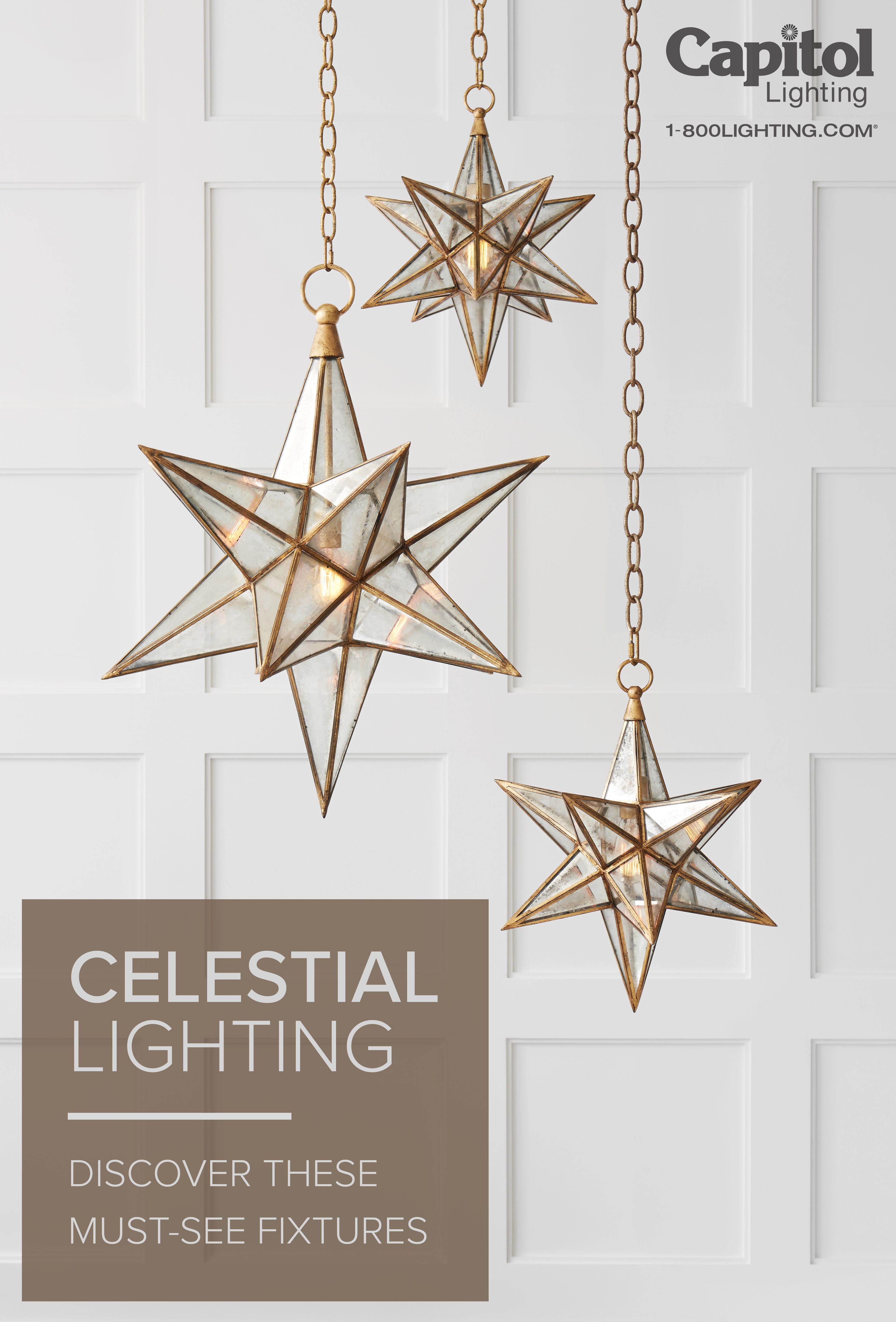 Celestial Lighting A Hot Interior Trend Live Brighter