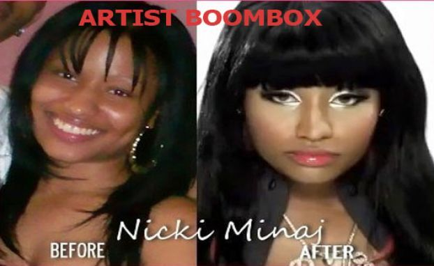 Pictures of nicki minaj before she was famous