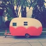 Would love to travel around in this cute trailer.