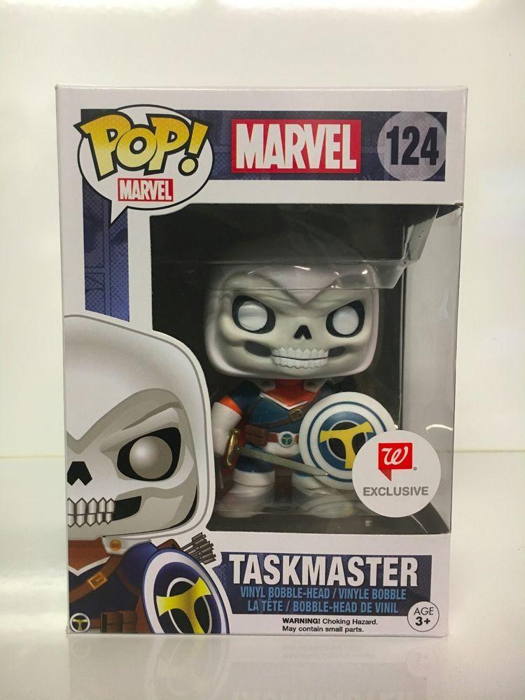 Taskmaster Walgreens Exclusive Marvel Funko Pop Marvel #124