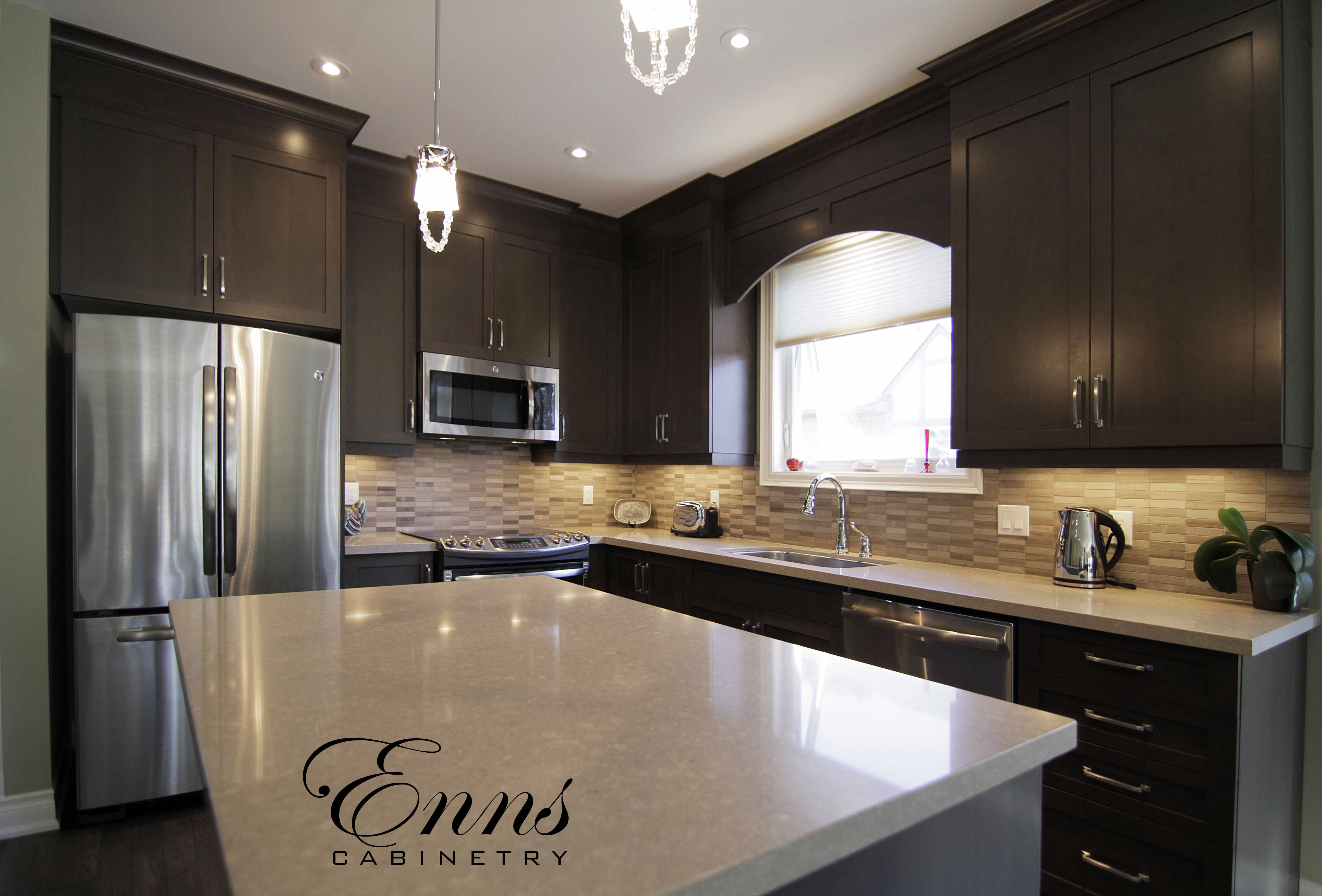 Pin By Enns Cabinetry Inc On Enns Kitchens Kitchen Cool Kitchens Modern Exterior