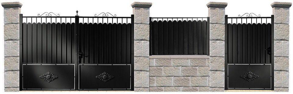 Épinglé par sharol agosto sur clôture et portail  portail