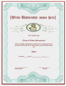 3 degree certificate templates word excel pdf templates