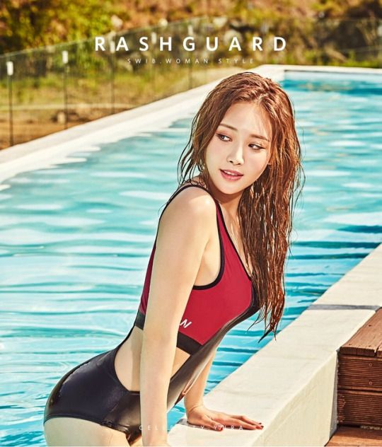 South Korea Kpop Korean Bikini Asian Bikini Girl S Day Yura