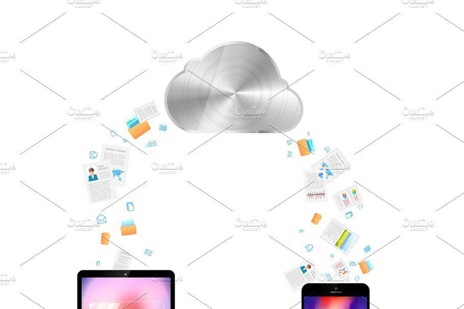 File Transfer Via Cloud Service In 2020 Cloud Services Custom Mobile App