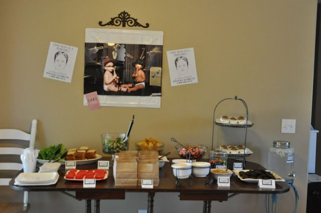 Themed Party Food And Decor
