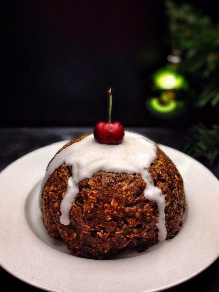 Vegan Christmas Pudding   refined sugar free, gluten free, vegan