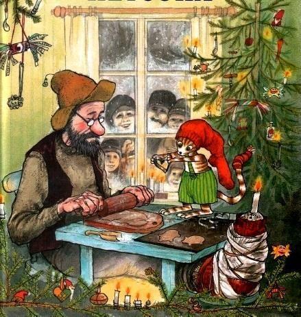 Петсон и Финдус: Рождество в домике Петсона (рассказ ...