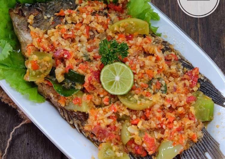 Resep Pecak Gurame Oleh Susi Agung Resep Resep Ikan Makanan Resep Makanan