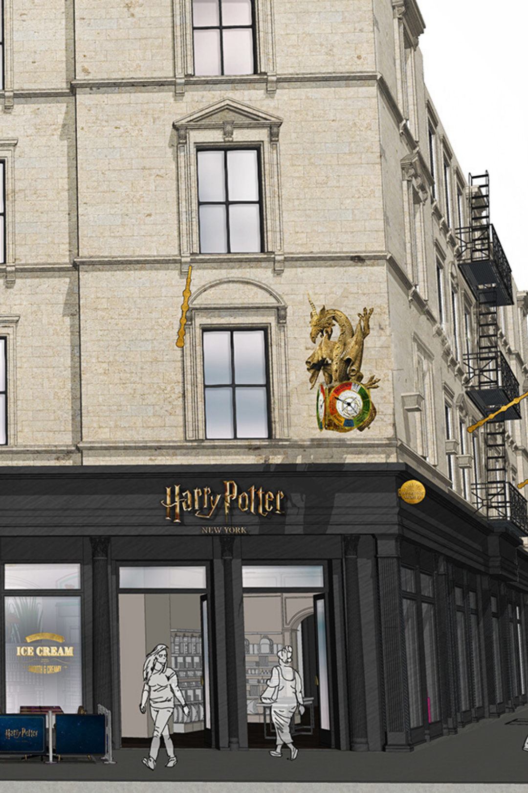 Pin By Callie Risinger On New York City In 2021 Harry Potter Store First Harry Potter Nyc