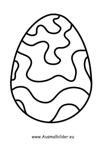 Ausmalbild Osterei Mit Wellen Zum Ausmalen Ausmalbilder Malvorlagen Ostern Osterhase Osterei Ausmalbild Ostereier Ausmalen Ausmalbilder Ostern