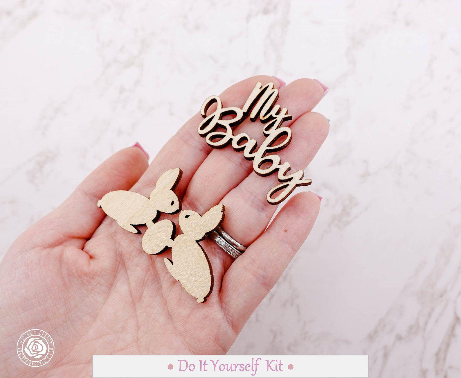 Personalized Baby Boy Diy Scrapbook Kit Boy Themed Scrapbooking