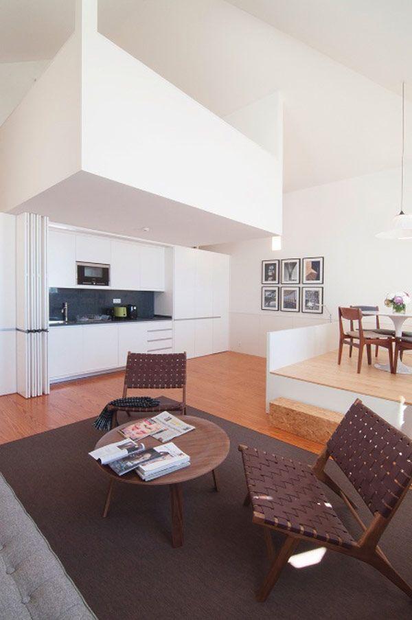 architecture d 39 int rieur une boite dans la boite maisons pinterest maison studio. Black Bedroom Furniture Sets. Home Design Ideas