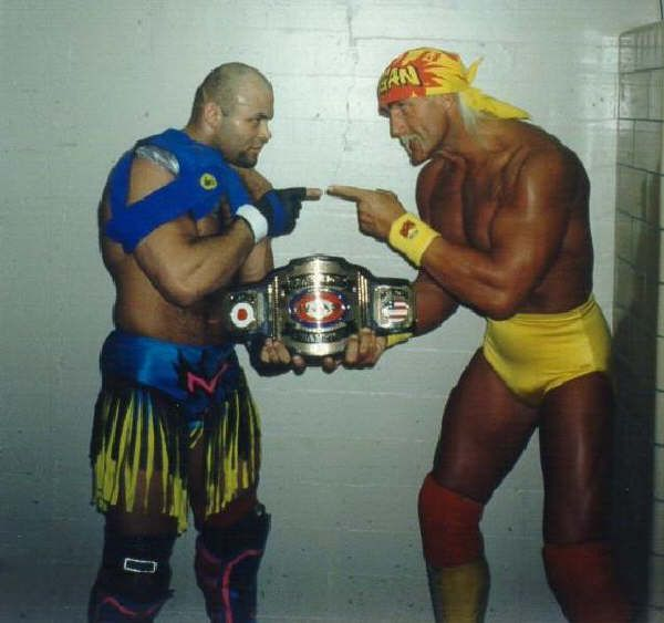 Konan Vs Hulk Hogan Wrestling Wwe Hulk Hogan Mma