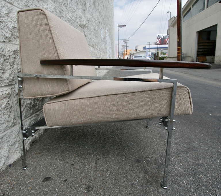 Pair of Sergio Rodrigues Beto Chairs   From a unique collection of antique and modern armchairs at https://www.1stdibs.com/furniture/seating/armchairs/